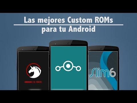 Las mejores custom ROMs para Android