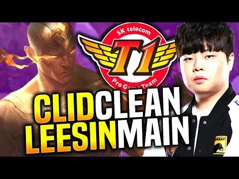 SKT T1 CLID LEE SIN is so CLEAN! - When Clid Picks Lee Sin Jungle!   SKT T1 Replays