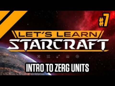 Let's Learn Starcraft #7: Intro to Zerg Units