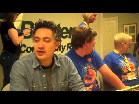 Superman Celebration - Michael Rosenbaum and Alessandro Juliani