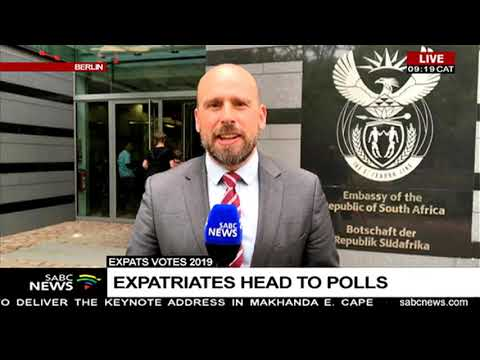 South Africans vote in Germany