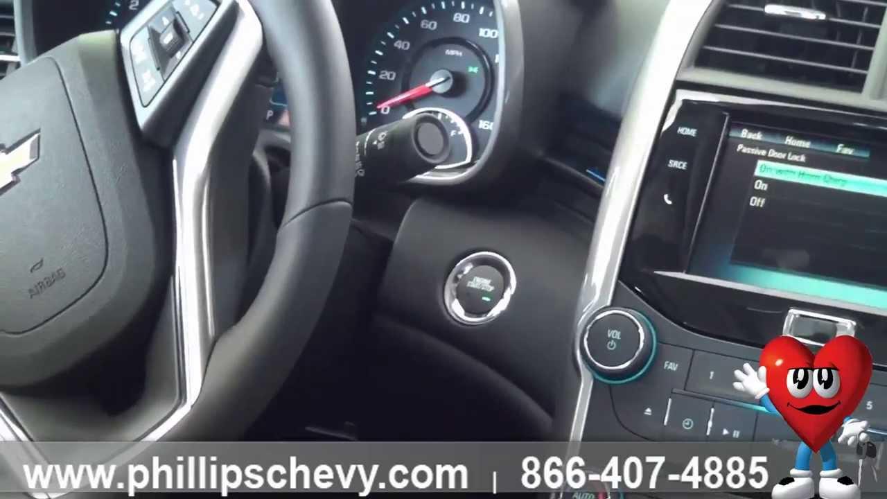 Phillips Chevrolet - 2014 Chevy Malibu Passive Keyless Entry - New ...