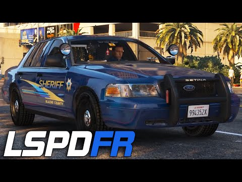 LSPDFR #129 - Alameda County Sheriff!