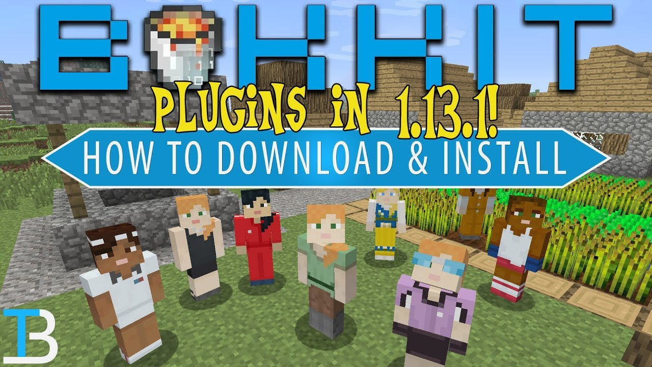 How To Add Plugins To Your Minecraft 1 13 1 Bukkit Server (Get World Edit  on A 1 13 1 Server!)