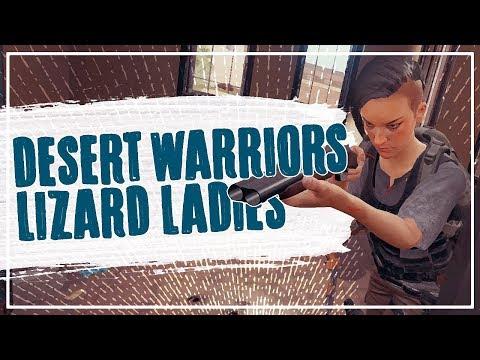 DESERT WARRIORS & LIZARD LADIES - NEW PUBG MAP