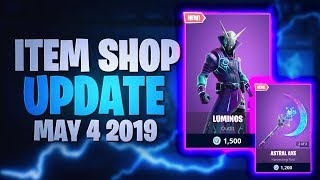 Fortnite Item Shop Mise à jour INSANE 'NEW' SKINS! [04.05.2019 - 4 mai 2019] Fortnite Bataille Royale