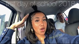 grwm first day of school + vlog  (junior year) | BACK TO SCHOOL 2018