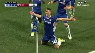Gary cahill's header puts chelsea back in front