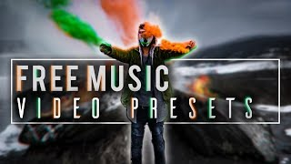 FREE music video Effect Presets Premiere Pro download