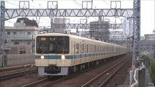 「小田急」喜多見駅を通過する1000形・3000形・4000形・8000形・16000系