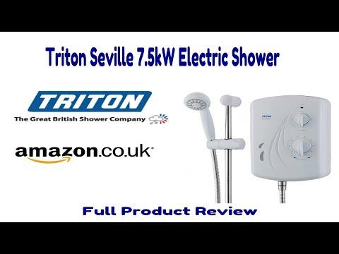 Triton Seville 7.5kw Electric Shower Review - Plus Unexpected Product Failure