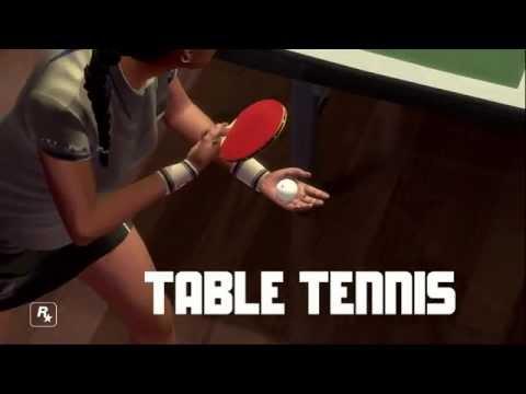 Rockstar Games Table Tennis - Trailer #1