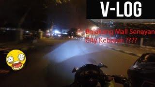 Motovlog - Belakang Mall Senayan City Kebakaran ?