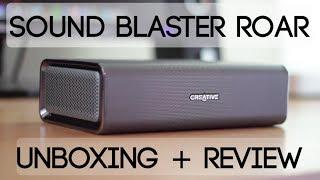 Sound Blaster Roar SR20 Speaker Unboxing + Review!
