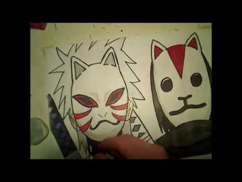 How To Draw Anbu Itachi And Kakashi Youtube