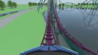 virtual pov ride on mako tallest fastest longest coaster in orlando coming to seaworld