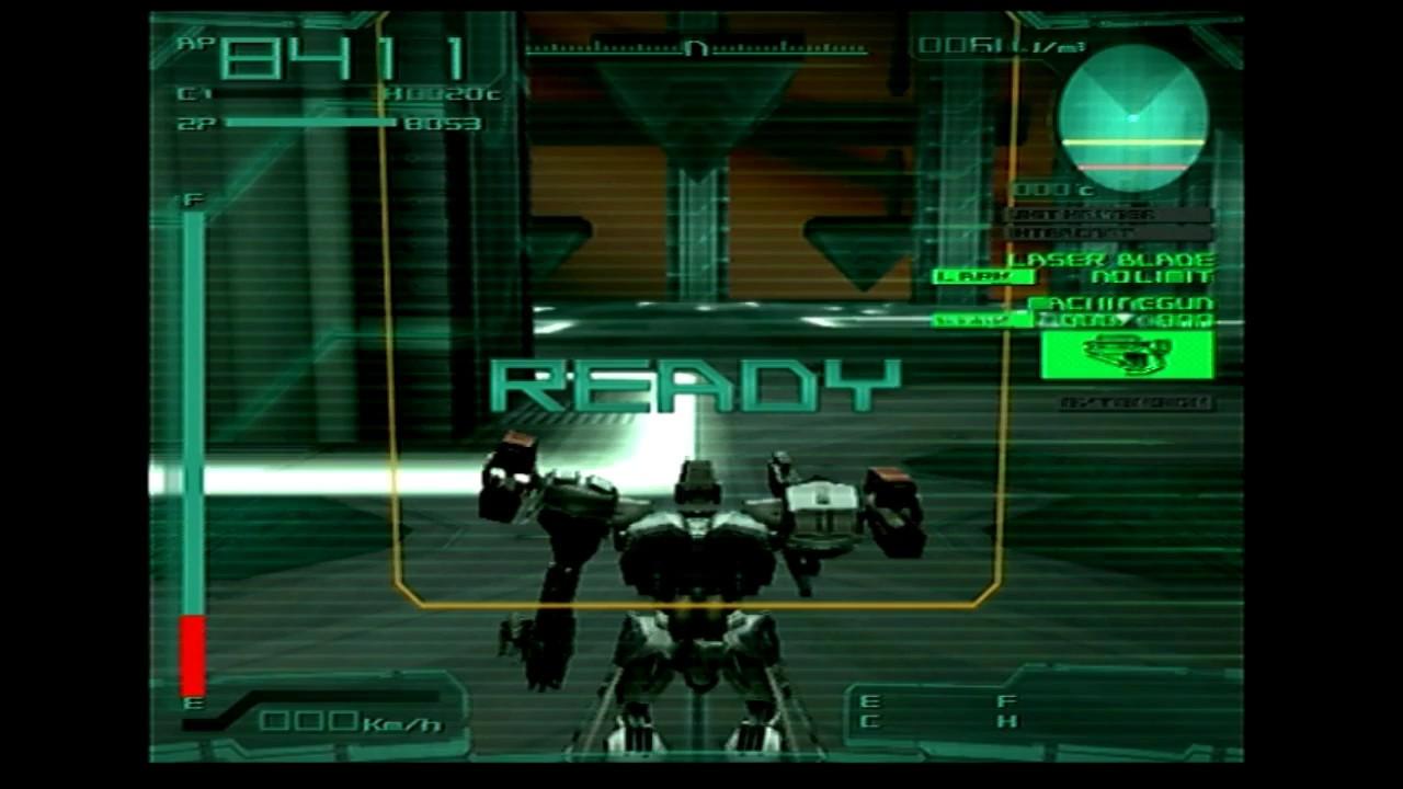 Armored Core Last Raven Vs Daemon No Damage Youtube