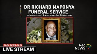 Dr Richard Maponya Funeral Service, 14 January 2020