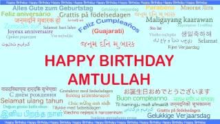 Amtullah   Languages Idiomas - Happy Birthday