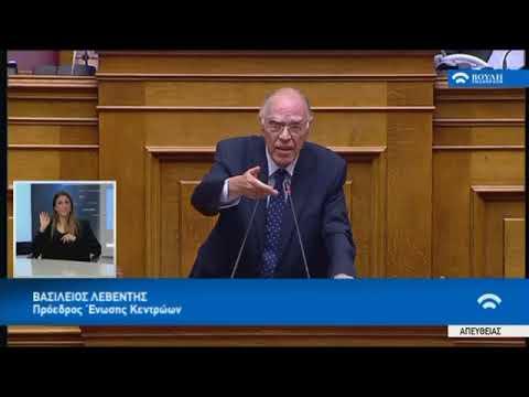 Β.Λεβέντης για το Σκάνδαλο Νovartis στην Βουλη 21/02/2018