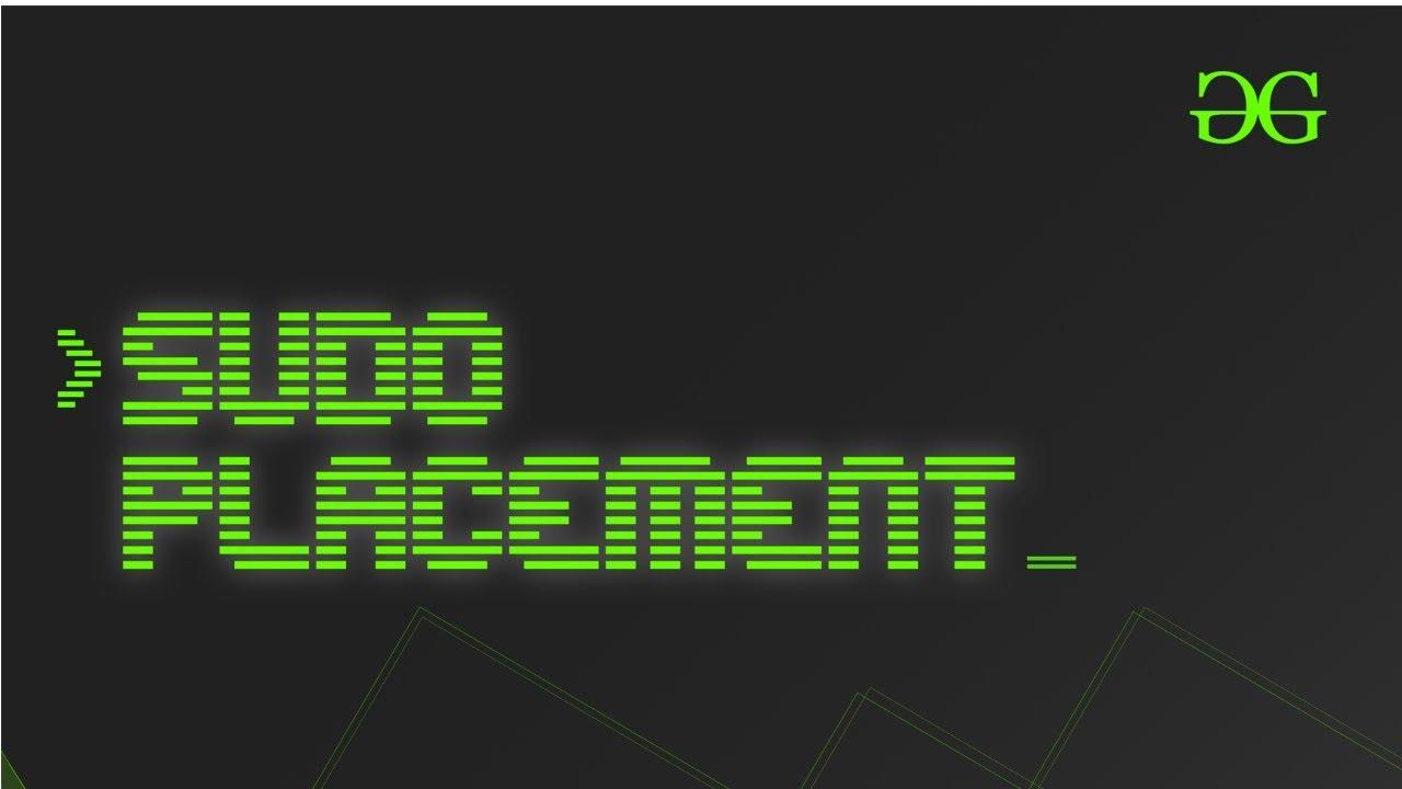 Course | Sudo Placement
