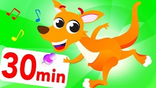 I'm a Kangaroo Doo Doo Jack In The Savannah Jungle! And Where Are My Awesome Spots? by Little Angel