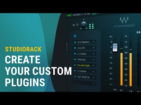 Creating Plugin Chains With The New Waves StudioRack