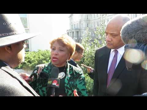 Roland Martin & the Congressional Black Caucus Executive Committee