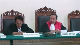 Wartasas : Sidang Pra-Peradilan Gunawan Terancam Ditolak
