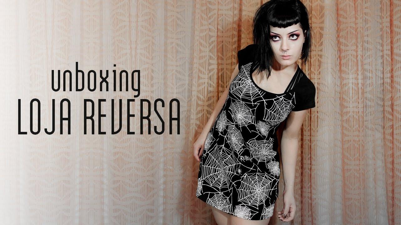 b10b68f2fe Recebidos da Loja Reversa | Unboxing e Impressões | Moda Dark e Alternativa