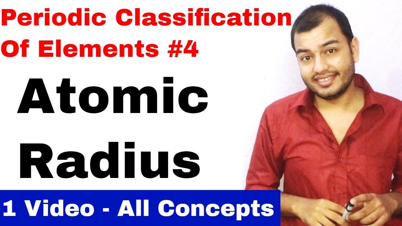 Physics wallah alakh pandey tvh dailymotion video class 11 chap 3 periodic table 04 atomic radius ionic radius its ccuart Gallery