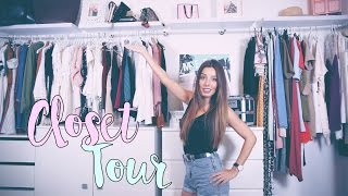 CLOSET TOUR  ♡ Haz tu propio VESTIDOR económico | A Little Too Often thumbnail