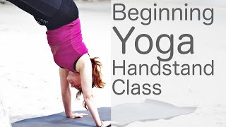 Free Beginning Yoga Handstand Class: With Fightmaster Yoga