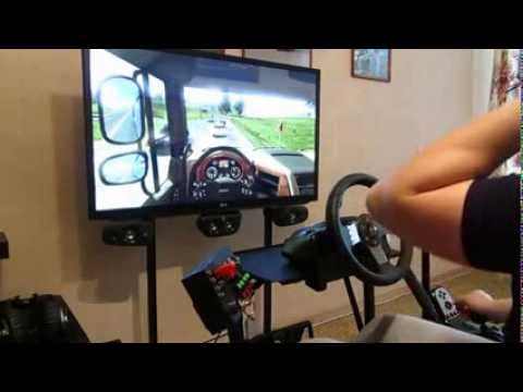 home game room euro truck simulator 2 logitech g27 home game room youtube