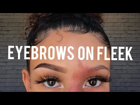 Eyebrow Tutorial For Beginners!