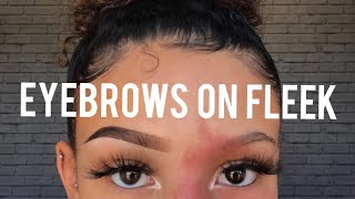 Eyebrow Tutorial For Beginners!