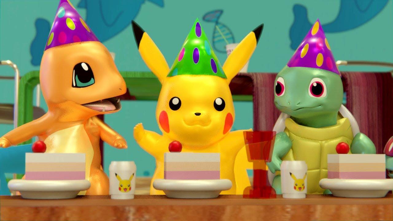 Download POKEMON Pikachu Birthday Party in Lego City - pokemon episode