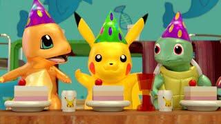 Download lagu POKEMON Pikachu Birthday Party in Lego City - pokemon episode