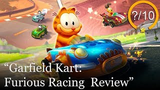 Garfield Kart: Furious Racing Review [PS4, Switch, Xbox One, & PC] (Video Game Video Review)