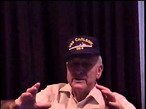 Oral History Project: Douglas Cady, USS Carlson DE 9