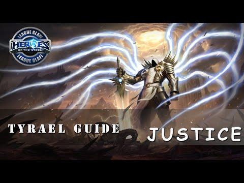 видео: Гайд Тираэль - heroes of the storm - guide tyrael