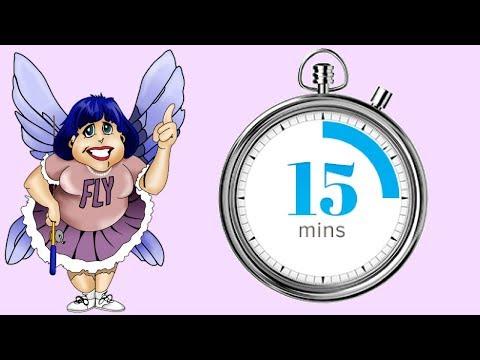 #Cronômetro - 15 minutos - #Flylady
