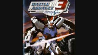 Battle Assault 3 Featuring Gundam Seed Track 18 theme