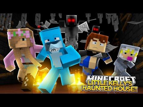 Minecraft Adventure - LITLLE KELLY GETS SCARED TO DEATH!!