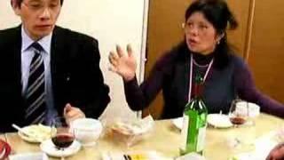 チキンのポシェ・クリームソース マグロの辛子酢味噌かけ http://sanada...