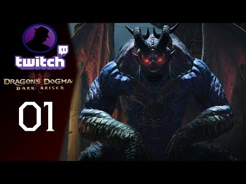 Let's Play Dragon's Dogma Dark Arisen - (From Twitch) - Part 1 - Heartless!