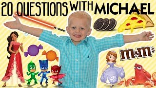 20 Facts About Me!  20 Things You Didn't Know About Michael from Family Fun Pack