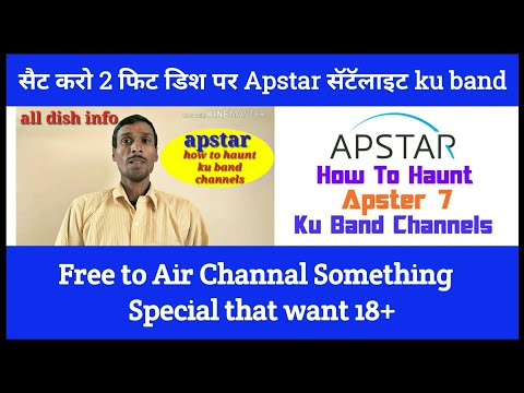 AapSter 75°5E Satellite Track Free to Air Channal Something Special that want 18+