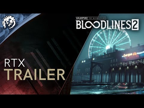 Bloodlines 2 RTX trailer teases sweet graphics and a mysterious woman in red   PC Gamer