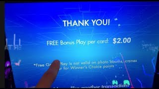 HOW TO GET FREE MONEY AT THE ARCADE HACK (100% REAL) | JOYSTICK